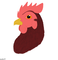 Rooster by Aryncoryn