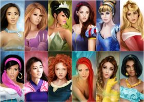 Disney Beauties by MartaDeWinter