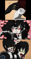 Adventures With Jeff The Killer - PAGE 43 by Sapphiresenthiss