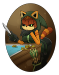 COMMISSION: Den of Thief by WHPLEFCT