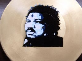 wesley willis on gold by itsallblack
