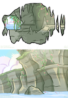 Gemsona: Prehnite's Cave by forte-girl7