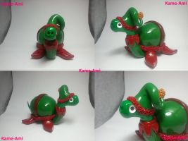 Elf the Tortuga by Kame-ami