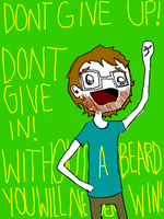 without a beard... by cosmo-fish