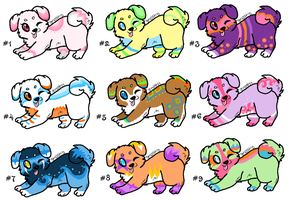 Puppy Adopts by DesuPanda-Adopts