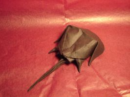 Origami Horseshoe Crab by KamiWasa