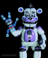 Funtime Freddy Parts and Service by jorjimodels