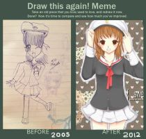 Draw this again meme by AmiMochi