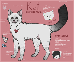 kait ref -kitty- by pandapoots