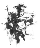 Inks: McCree (Overwatch) by Alex-Chow