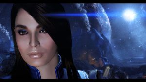 Mass Effect 3 Ashley 2 by AgataFoxxx