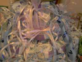 Diaper Cake Ribbons by carmietee