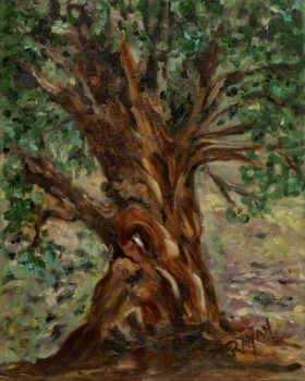 Haunted Tree by RayanPaintings