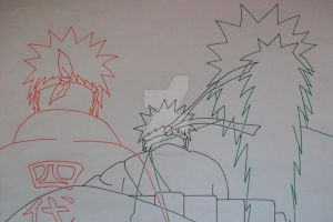 They believe in me... Naruto, Minato and Jiraiya by SakakiTheMastermind
