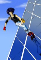 on the mirrors edge - color by Kiki-ishtar