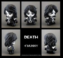 Death munny by FlyingSciurus