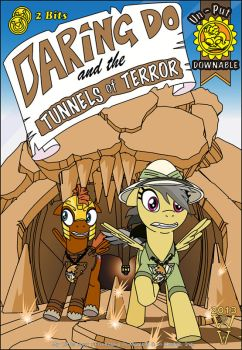 Daring Do and the Tunnels of Terror by WarrenHutch
