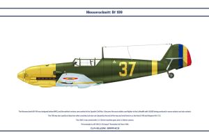 Bf 109 E-3 Romania 3 by WS-Clave