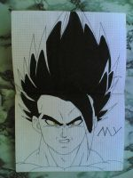 Drawing-Myself_Dragonball=LG by eduaarti
