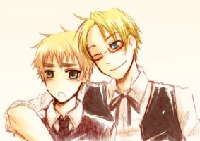 APH : Hey, Smile by rainy--day