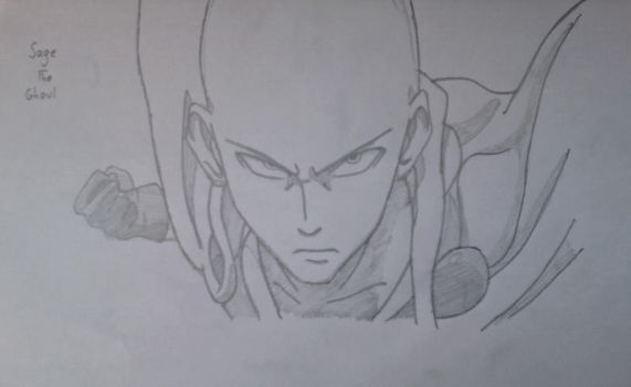 Saitama by Sage-the-Ghoul