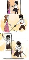 Zorro the perv..? by compoundbreadd
