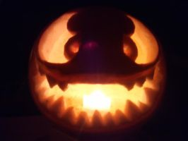 My 2013 Halloween Pumpkin by ComikzInk