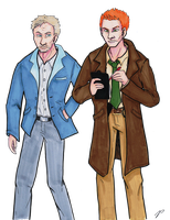 Police detectives by shadow-inferno