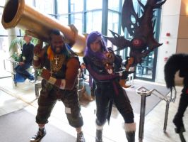 Mr. T and Caius by axel-fire