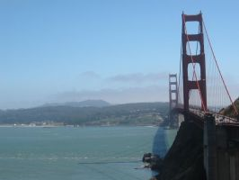 Golden Gate Bridge by BlueArctic4