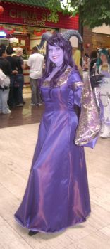 Draenei female at AWA'09 by Cliffather