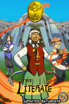 The Literate Comic - Cover Arc1 by TeaDino