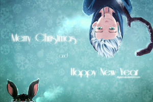 Merry Christmas and Happy New Year! by clgtart