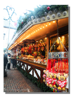 Frankfurt Christmas Market - Sweets Shop by WillFactorMedia