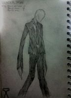 Slender Man by AeroleFlock