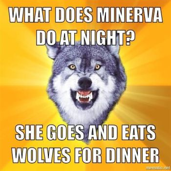 What does Minerva do at night by Ask-TheAvatar