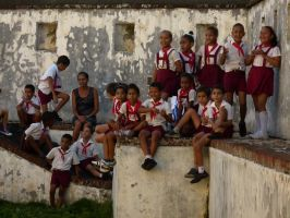 Cuba . Pioneers in the fortress by utico