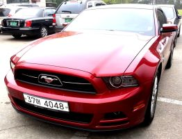 Red Mustang Coupe by toyonda