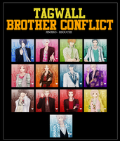 Brother Conflict Icon's by Jinjiro-Higuchi
