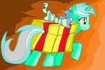 LYRA as Gift in MS-paint by sallycars
