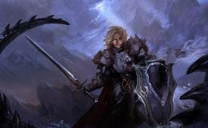 Black knight by akizhao