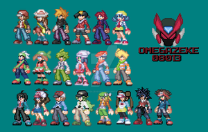 trainer sprites (done! o3o/) by omegazeke08013