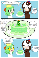 Happy Birthday Kaiten by AkatsukiChibiness