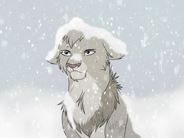 #58- Buried In Snow by WolvesWoodGlen