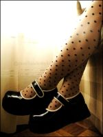 my new shiny doll shoes V by MarchandeDePlaisirs