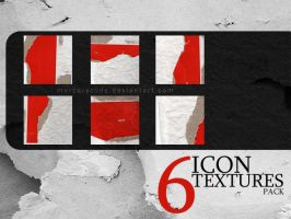6 Icontextures: red paper by mercurycode