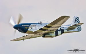 North American P-51D Mustang by Thunderbolt120