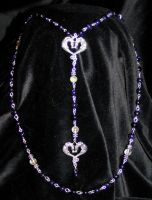 Nox Draconis rosary by redLillith