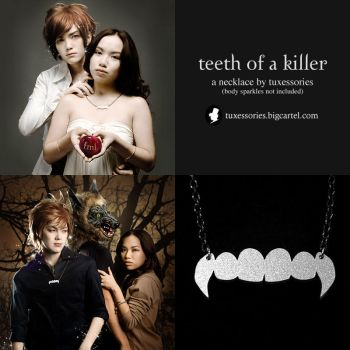Tuxessories: Teeth of a Killer by behindinfinity