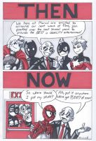 Spider-Man and Marvel- Then and Now by RobertMacQuarrie1
